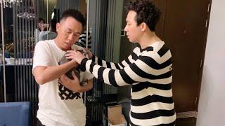 """(한) Hari và Trấn Thành khóc nức nở khi tặng bé mèo """"Chipu"""" cho Anh Đức 득에게 쥐냥이를 보내야하는 하리와 쩐탄의 눈물"""