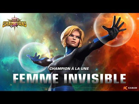 Test des Synergies des 4 Fantastique : La Femme Invisible !