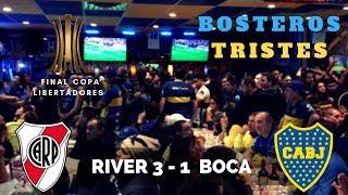 Final Copa Libertadores| River 3 Boca 1 | Reacción Hinchas Boca Juniors | DIEGOLTV |