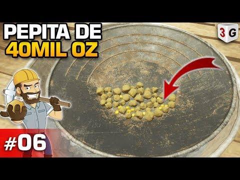 GOLD RUSH THE GAME #06 : ACHEI UM PEPITA QUE VALE 40MIL OZ