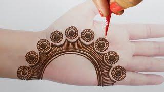 Beautiful Mehndi Design from Gol Tikki    Rakhi Special Mehndi Design 2020    Simple Mehndi Designs
