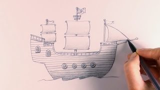 R.E.A.P: Concept Art: How to Draw a Pirate Ship