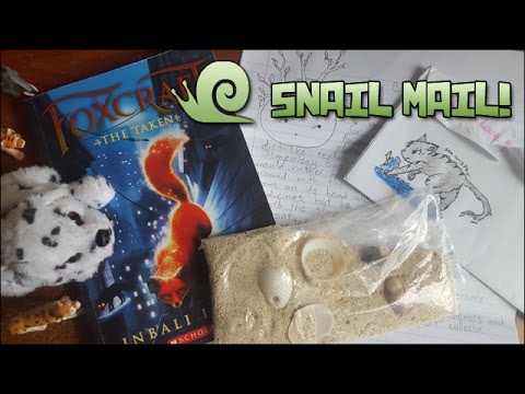 Foxcraft, Gifts from Antiuga & Reports of New Slimes!! || Snail Mail Vlog!