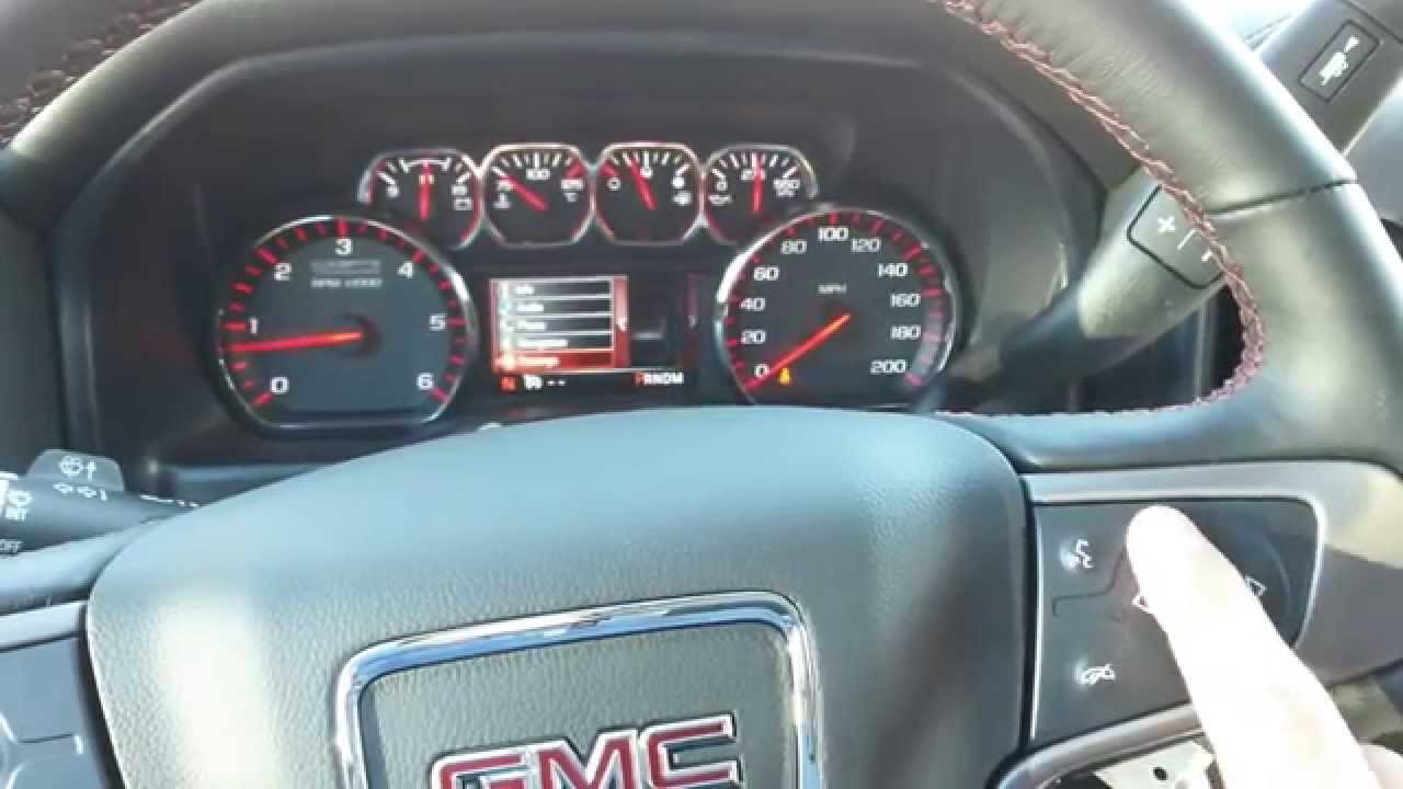 Changing from KM to Miles on your 2014 GMC/Chevrolet Truck ...