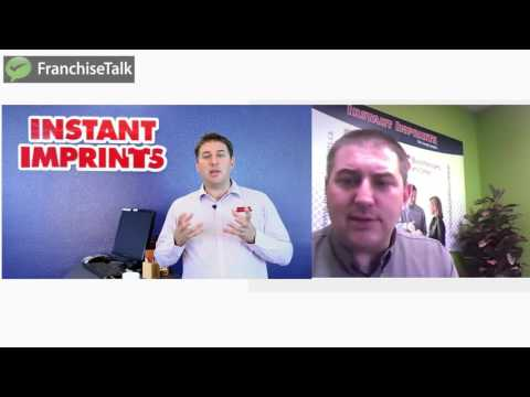 Franchise Talk with Instant Imprints