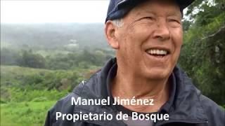 Familia propietaria de bosque: Manuel Jiménez