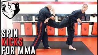 Karate Spinning Kicks for MMA/Kickboxing ft. FaZe Sensei