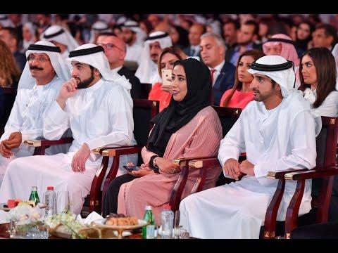حمدان بن محمد يشهد افتتاح منتدى الإعلام العربي الـ16