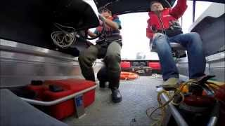 Boat Seat Shock Mitigation: Shark