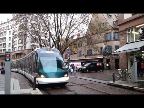 trams in braunschweig germany doovi. Black Bedroom Furniture Sets. Home Design Ideas