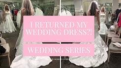 I RETURNED MY WEDDING DRESS?! - WEDDING SERIES | Moriah Robinson