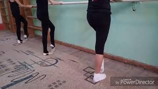 Урок хореографии для художественной гимнастика
