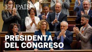 Discurso íntegro de MERITXELL BATET, nueva PRESIDENTA del CONGRESO