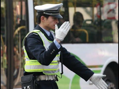 La police de Shanghai s'engage