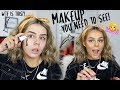 MAKEUP SMELLS LIKE WHAT?! BLACK PRIMER...ERM WTF? | FULL FACE OF FIRST IMPRESSIONS