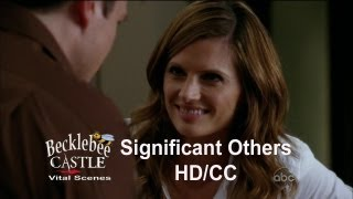 """Castle 5x10 """"Significant Others"""" First Scene at The Loft & Beckett's """"Look"""" Scene  (HD/CC)"""