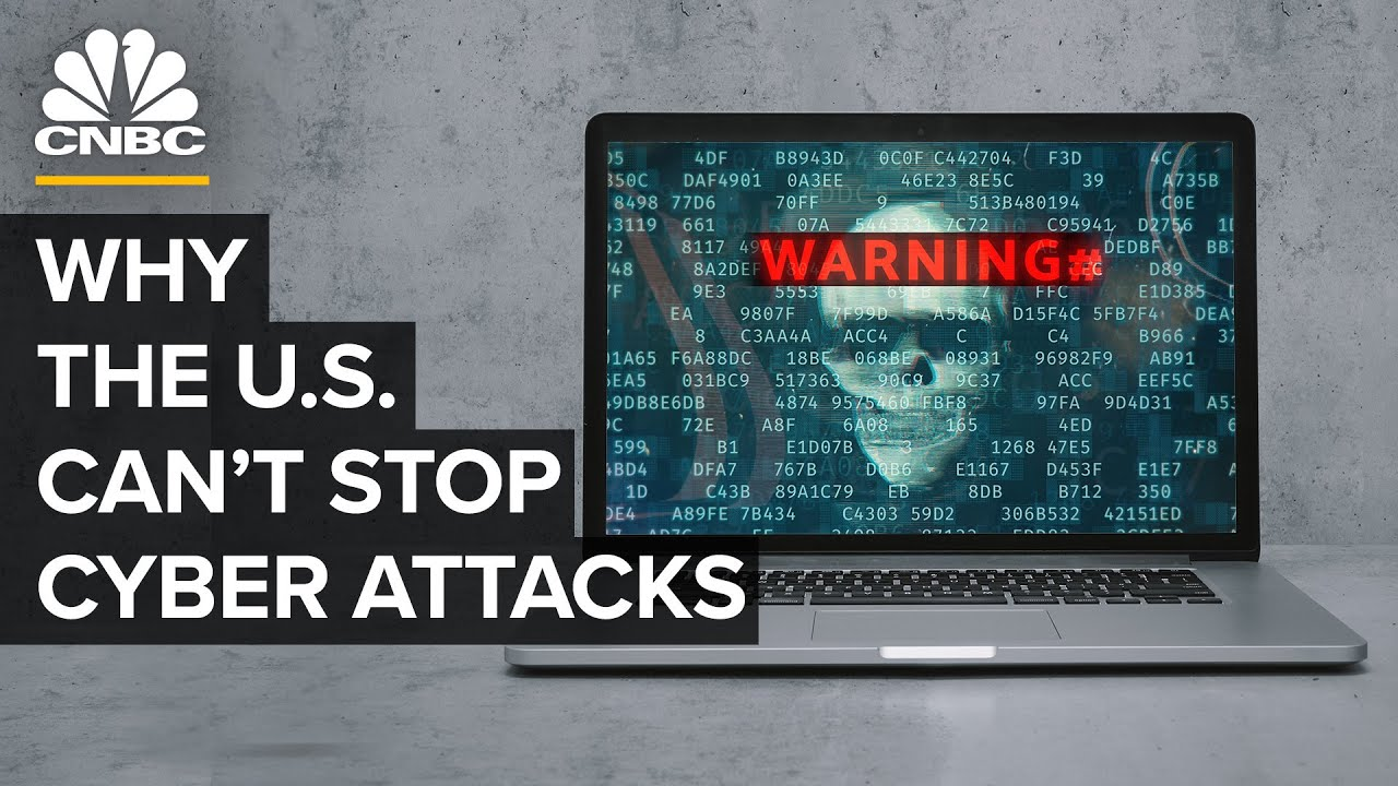 Why The U.S. Can't Stop Cyber Attacks