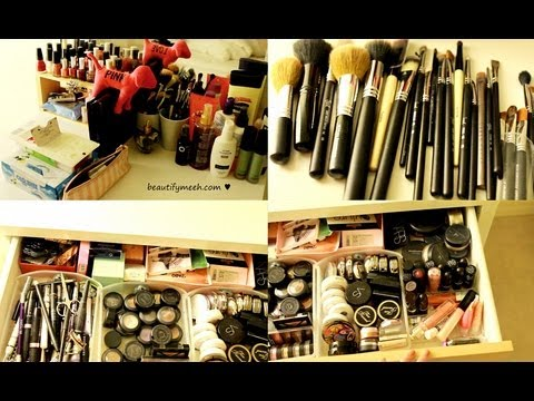 My Makeup Collection & Organization 2011 ♥ - 동영상