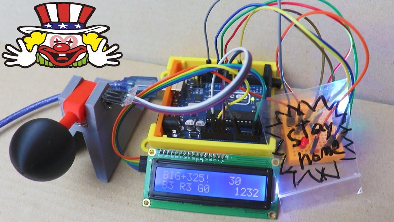 3DプリンターとArduinoでパチスロレバー作って叩いてみた!
