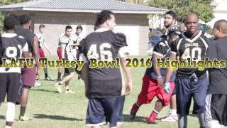 LAFU Turkey Bowl Highlights 2016