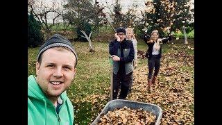 #168-Niecodzienne obowiązki na gospodarstwie całą rodziną! (Jesienne prace w ogrodzie)