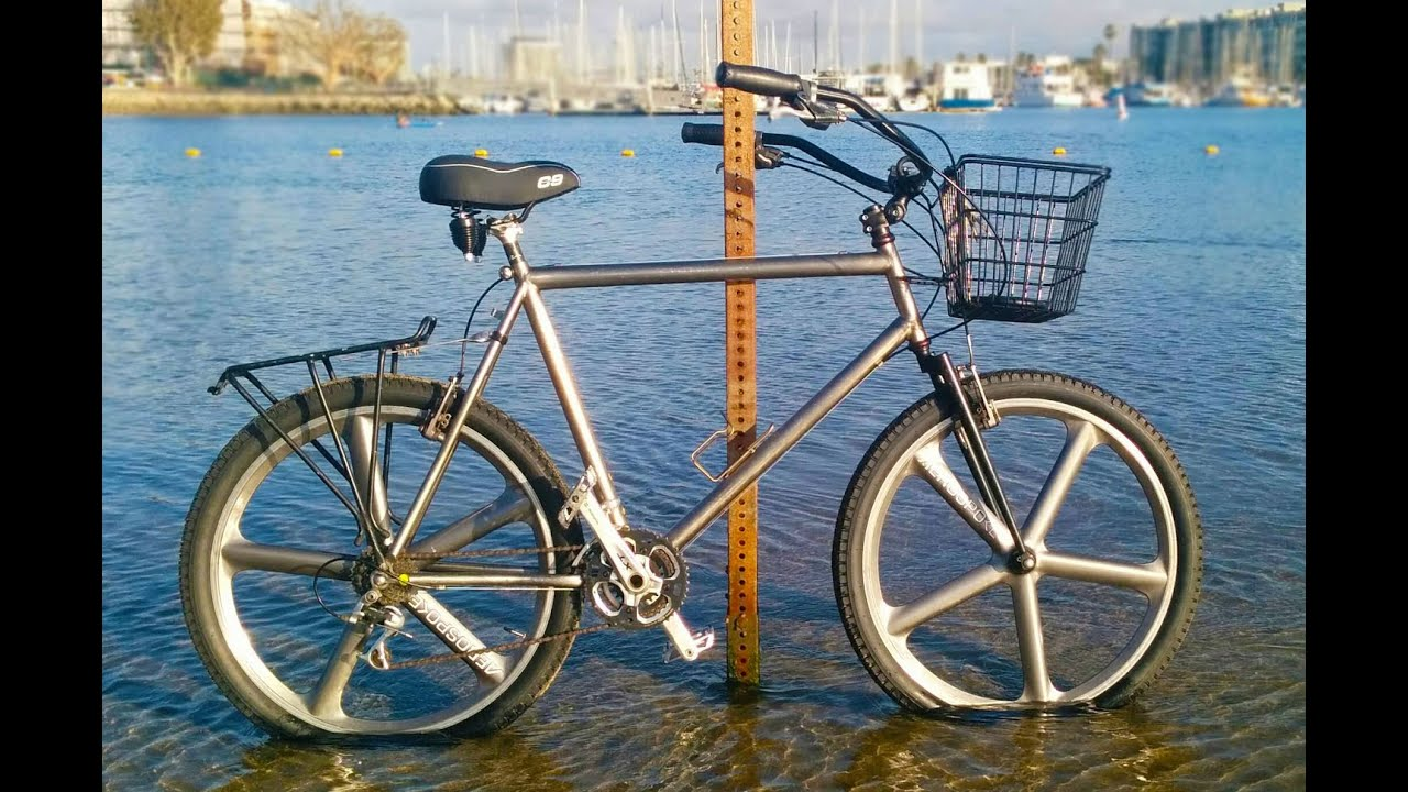 Convert  Mountain Bike To Beach Cruiser  YouTube