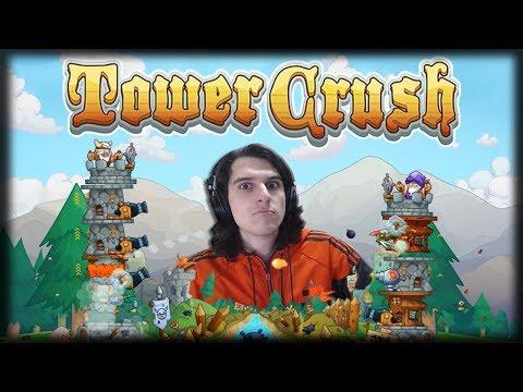 Jogando Tower Crush - Jogo Mobile Grátis - Batalhas de Torres Medievais!!