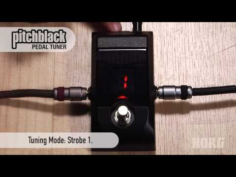 Korg Pitchblack Pedal Tuner Overview – with Display Modes!
