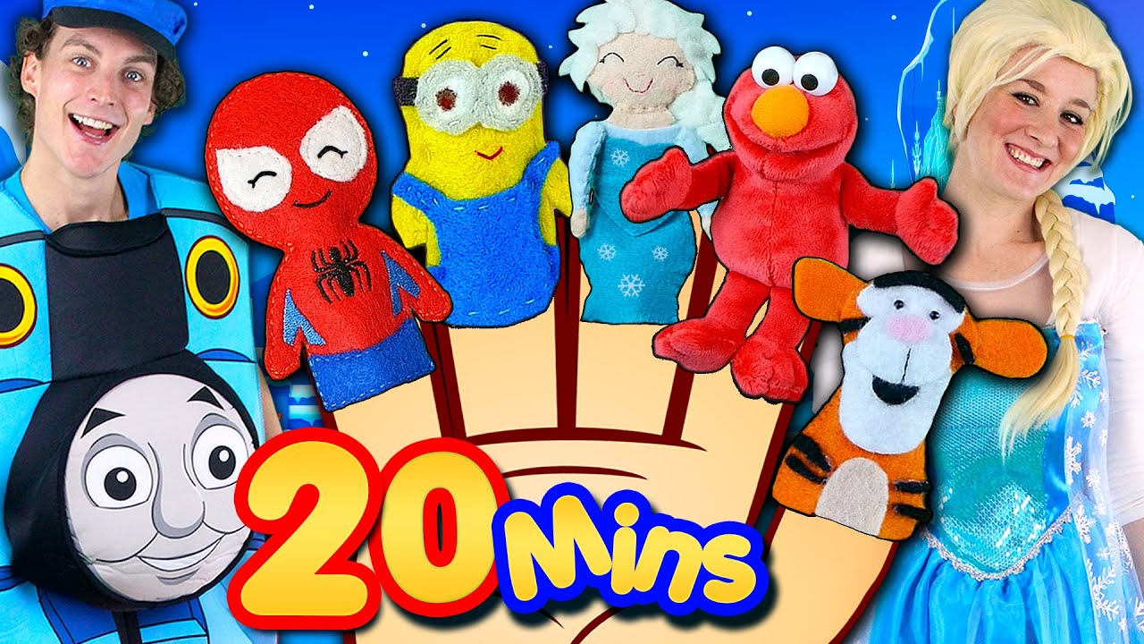Finger Family Song Mega Collection Frozen Minions Elmo Nursery Rhymes More You