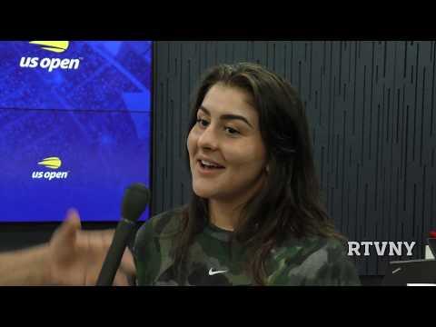 Bianca Andreescu  US Open 2019: Interviu In Exclusivitate Pentru Romanian TV Of NY (RTVNY)