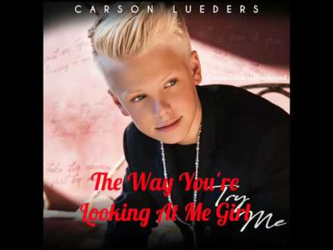 Carson Lueders Try me ( lyrics video)