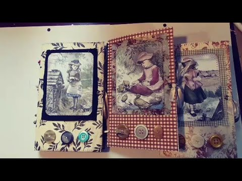Vintage Farm Life Junk Journals (Sold)