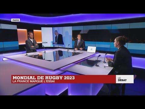 Mondial de rugby 2023 : la France marque l'essai