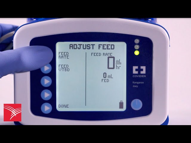 Using the Continuous Mode feature of the Kangaroo™ Joey Enteral Feeding Pump for feeding only