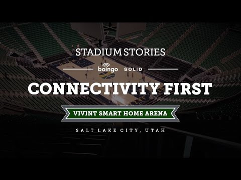 Boingo Stadium Stories: Vivint Smart Home Arena