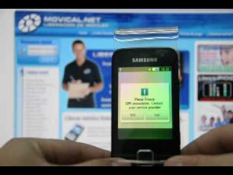 Liberar y quitar Phone Freeze Samsung S5600 en www.movical.net