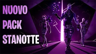 🔴 NEW Pack Dark Reflection (Dark Legends) STANOTTE! IS IT coming? Fortnite ITA