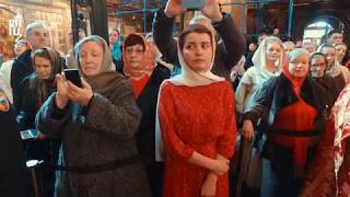 Проповедь Патриарха Кирилла в понедельник Светлой седмицы