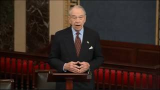 Grassley: No One More Qualified than Jeff Sessions to be AG