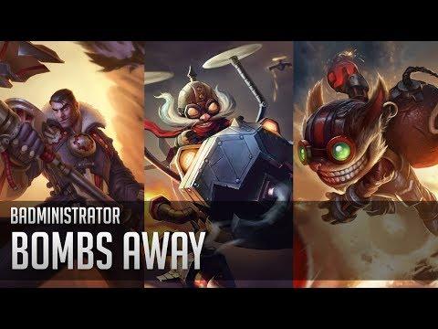 Badministrator - Bombs Away (Jayce/Corki/Ziggs Tribute)