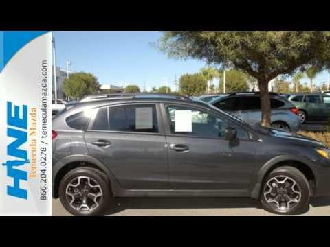 2014 Subaru Xv Crosstrek Temecula Ca Riverside Ca S2151a