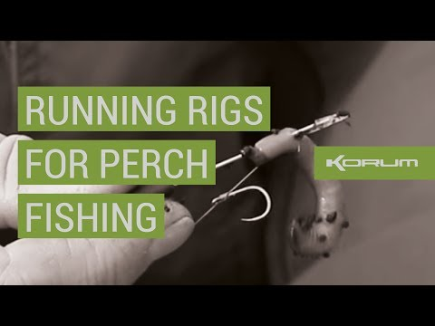 Simple Running Rigs for Perch Fishing