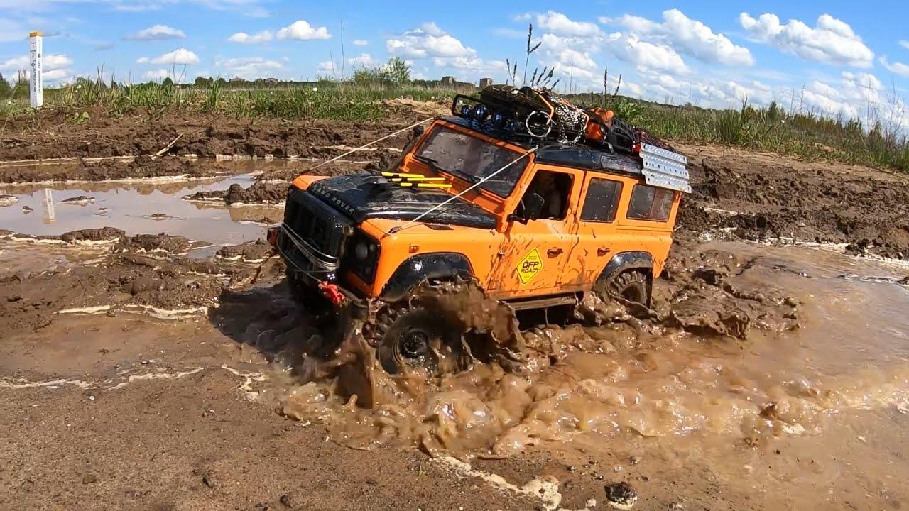Вот почему внедорожник Land Rover Defender едет везде! OFFroad 4x4
