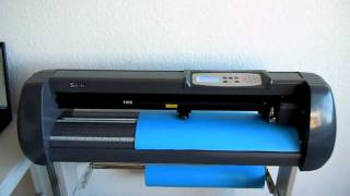 Cutting Plotter Schneideplotter TSP  720 de decoupe Tutorial yaktrading.com  HD