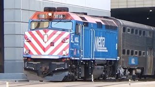 METRA MAYHEM! - Railfanning Chicago