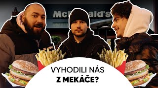 VYHODILI NÁS Z McDONALD'S? + RIP SWISS KING - STREETFOOD Ft. Porsche Boy + Wugabo