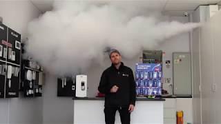Smoke cloak Melbourne Jace the ace security