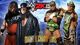 WWE Night Of Champions 2015 | Brothers Of Destruction VS D-Generation X | WWE 2K15 #65