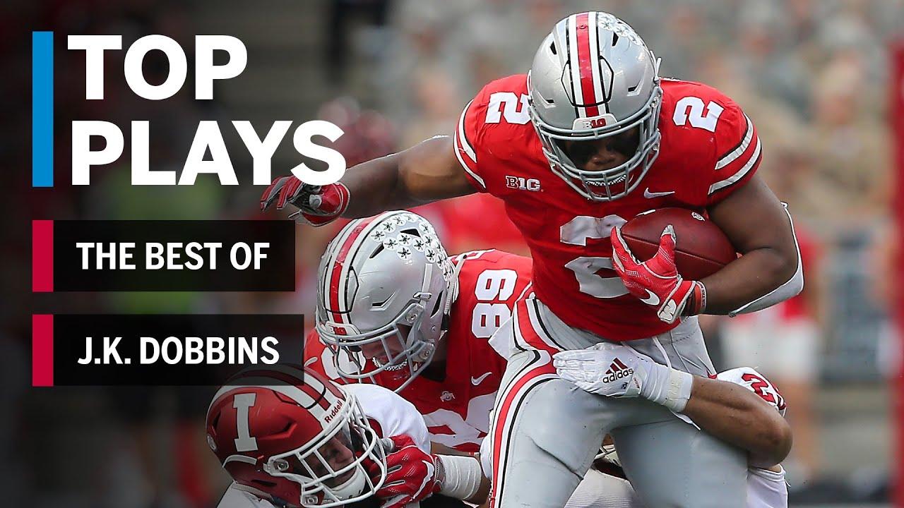 The Best Of J K Dobbins 2018 Mid Season Highlights Ohio State Big Ten Football