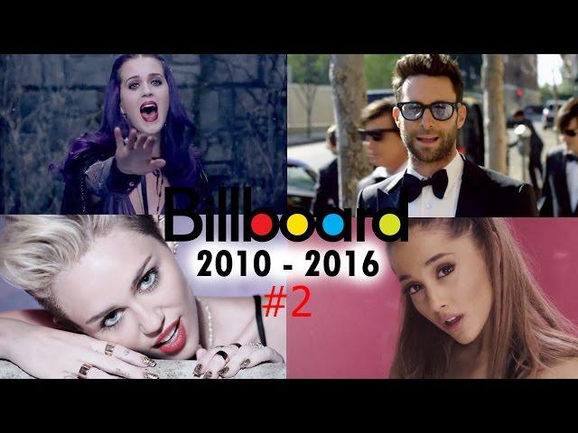 Billboard hot 100 - All Songs No. #2 (2010-2016)